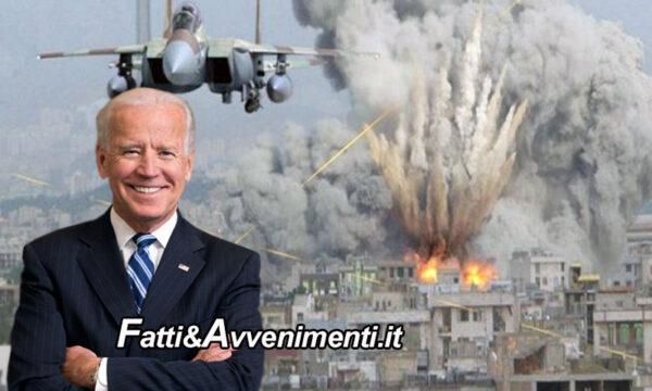 Biden ordina raid aereo contro gruppi filo Iran in Siria: è il 1° attacco Usa all'estero della nuova amministrazione