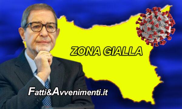 """Covid, è ufficiale la Sicilia torna in """"Zona gialla"""": l'indice Rt è il più basso d'Italia"""