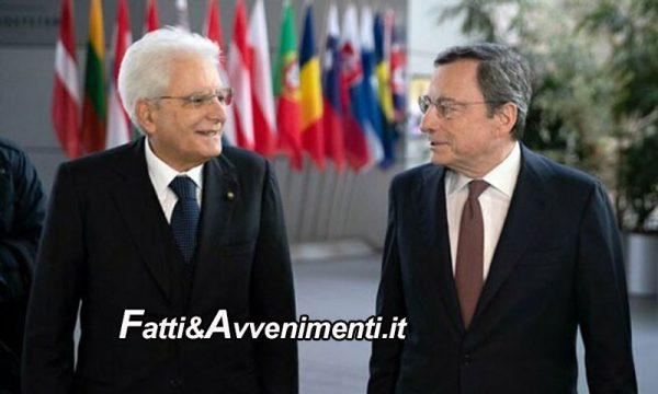 """Renzi """"affonda"""" Conte e Mattarella chiama Draghi ma c'è già il no del M5S e Salvini e Meloni vogliono il voto"""