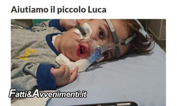 Milazzo. Raccolta fondi per Luca 6 anni affetto da atrofia muscolare, Sindaco De Luca: contribuiamo tutti