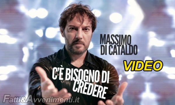 """""""C'è bisogno di credere"""" il nuovo singolo di """"Massimo Di Cataldo"""" da martedì 9 febbraio In radio e sui digital"""
