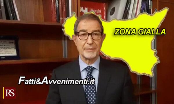 Covid, Musumeci anticipa la zona gialla a lunedì ma per S. Valentino i locali restano chiusi