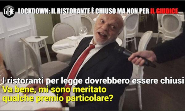 """Il giudice che processa Salvini viola il lockdown e si fa aprire il ristorante: """"Ma è solo un pranzo…"""""""