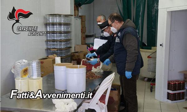 Sciacca. NAS sequestrano 8 quintali di prodotti ittici conservati: false etichette e assenza di autorizzazioni