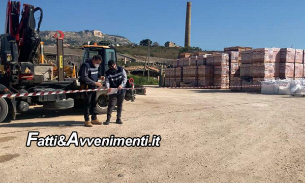 Sciacca. Guardia costiera sequestra area demaniale occupata abusivamente da anni da ditta di manufatti