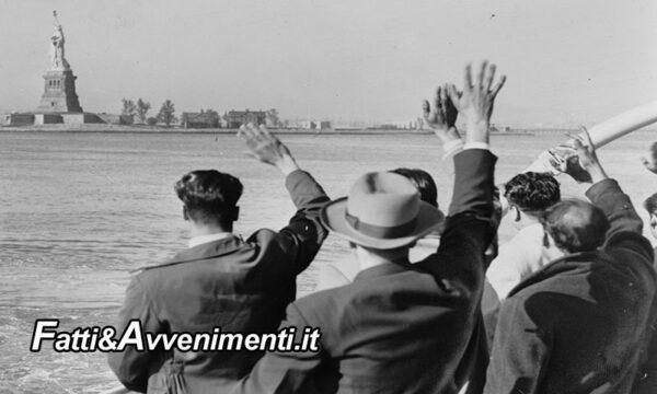 Storie di Sicilia. 1880, i siciliani vanno negli USA per fame… 1983, i loro nipoti vanno negli stati uniti da turisti
