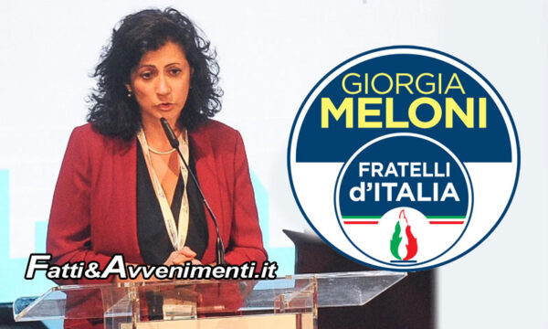 """L'ex M5S Senatrice Drago approda a Fratelli d'Italia della Meloni: """"Piena convergenza dal ponte sullo Stretto alla scuola"""""""