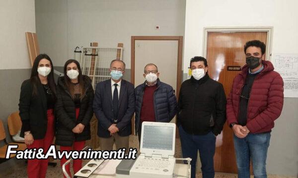 Caltabellotta. L'amministrazione Comunale dona all'Asp un elettrocardiografo: soddisfazione della Pro Loco