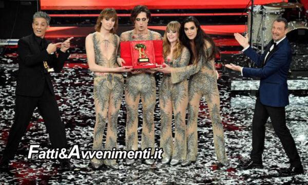 """Sanremo, vincono i Maneskin ma Fiorello lancia 'la maledizione' sulla prossima edizione: """"deve andare malissimo"""""""