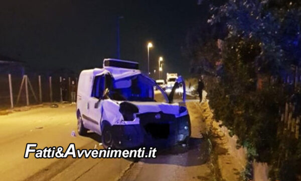Vittoria (RG). Si schianta con l'auto contro un muro: perde la vita un giovane di 25 anni. Inutili i soccorsi