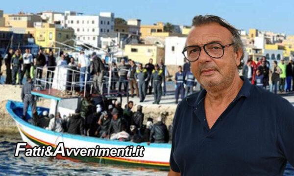 """Lampedusa, sbarchi """"no stop"""" 557 in 24 ore ed è boom di contagi: il sindaco chiede la """"zona rossa"""""""