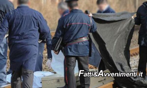 Messina. Anziana muore travolta da un treno: si era allontana dalla casa di riposo dove era ospite