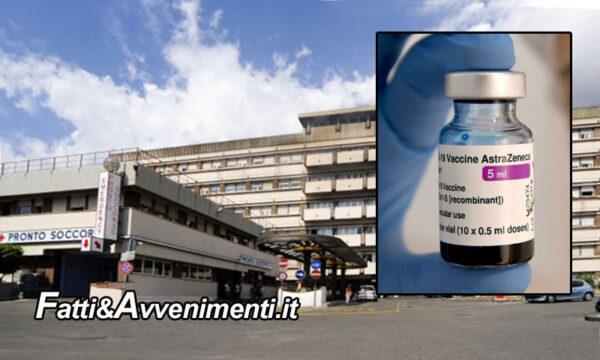 Messina. Prof 54enne in rianimazione per tromboembolia al Policlinico dopo somministrato Astrazeneca