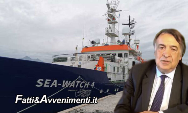"""Migranti. Sea Watch 4 ferma da 6 mesi lascia porto Palermo, Sindaco Orlando: """"Tornano a salvare vite"""""""