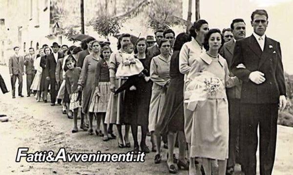 Storie di Sicilia. Fidanzamento e matrimonio fine anni '50 in una Sicilia ancora prettamente rurale