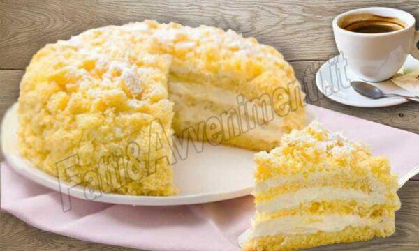 Torta Mimosa – Ricetta facile e veloce