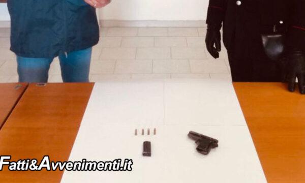 Canicattì. 90enne ricoverato in ospedale sorpreso in possesso di pistola con matricola abrasa e colpo in canna