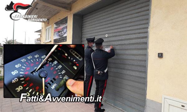 Campobello di Licata. Sequestrata concessionaria auto:  azzeravano i tachimetri macchine usate. Tre denunciati