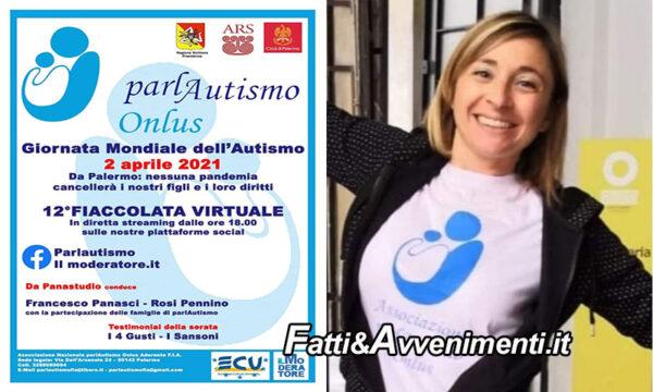"""Oggi è la Giornata mondiale dell'autismo: """"Fiaccolata virtuale"""" in streaming dalle ore 18:00 da Palermo"""