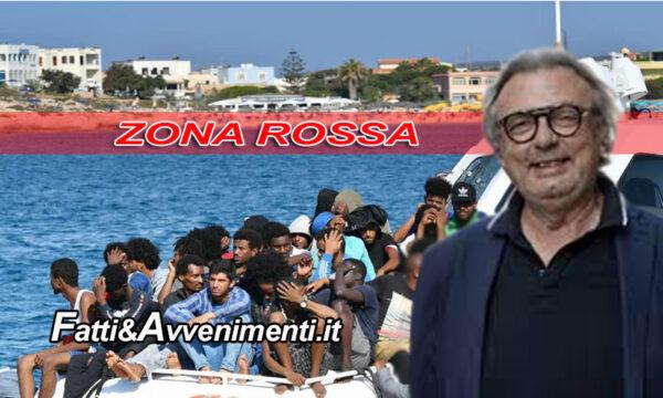 Lampedusa Zona Rossa solo per residenti: oltre 400 migranti sbarcati in poche ore, per Martello è OK