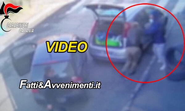 Giarre (CT). Pensionato picchiato da 2 banditi per rubargli 10 euro: 47enne arrestato grazie ad un video