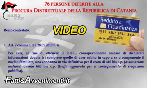 Catania. Reddito cittadinanza: 76 denunciati per indebita percezione tra cui condannati per mafia e un assassino
