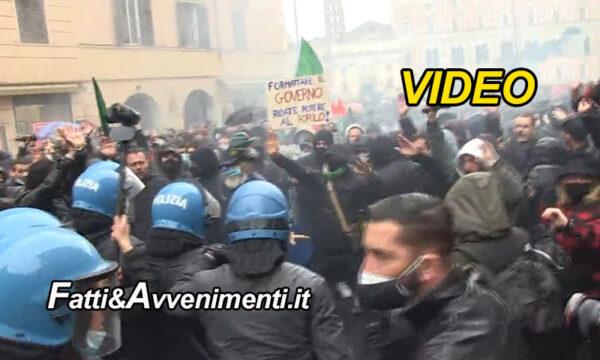 """Scontri a Roma, ristoratori contro il governo: """"Non ci fermeremo finché tutte le attività non saranno aperte"""""""