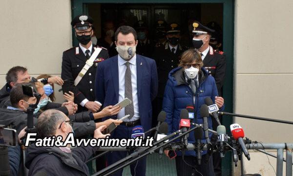"""Palermo. Open Arms, Gup rinvia a giudizio Salvini: """"La difesa della Patria è sacra, vado a processo a testa alta"""""""