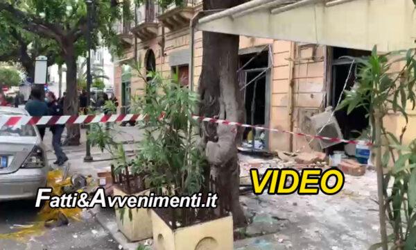 Palermo. Esplode bombola gas in zona stazione ed è panico: 8 i feriti, 2 gravi. Sul posto ambulanze e pompieri