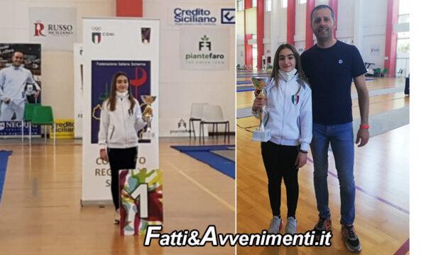 Santa Venerina (CT). Sciabola: la saccense Costanza Marciante vince la prima prova regionale under 14