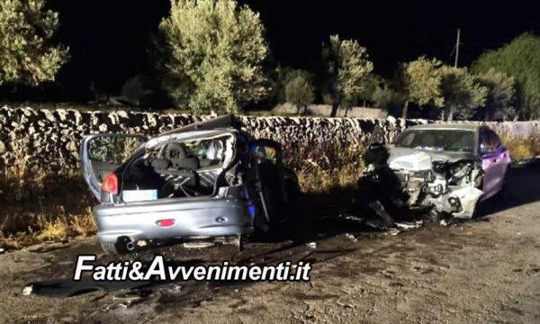 Rosolini (SR). Tragico incidente nella notte: scontro tra 3 auto,  muore un 18enne e sei le persone ferite