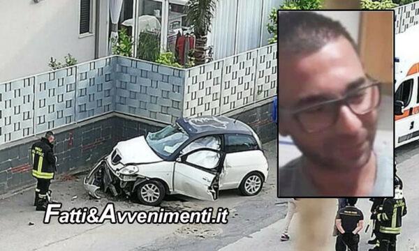 Licata. Si schianta con l'auto contro un muro: perde la vita un 28enne, inutile l'intervento dell'elisoccorso