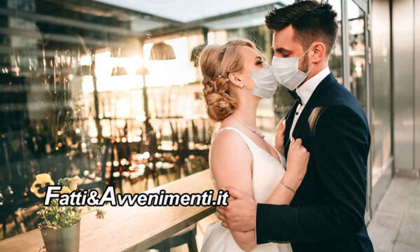 """Covid. Da giugno riprendono i matrimoni ma le regole rischiano di trasformare i banchetti in un """"incubo"""""""