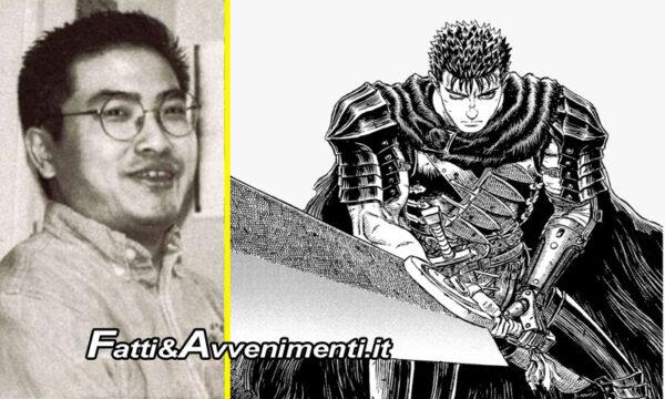 """Giappone. Si è spento a soli 54 anni l'autore di """"Berserk"""" Kentaro Miura"""