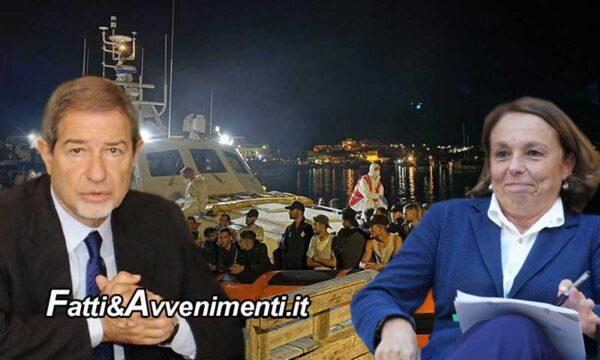Migranti. Lamorgese e Musumeci: Ue non si giri dall'altra parte mentre a Lampedusa sbarcano in 128