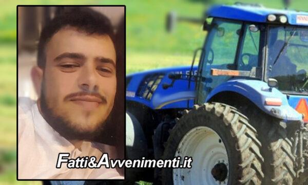 Modica (RG). Incidente sul lavoro: 21enne cade dal trattore e muore, inutile l'intervento dell'elisoccorso