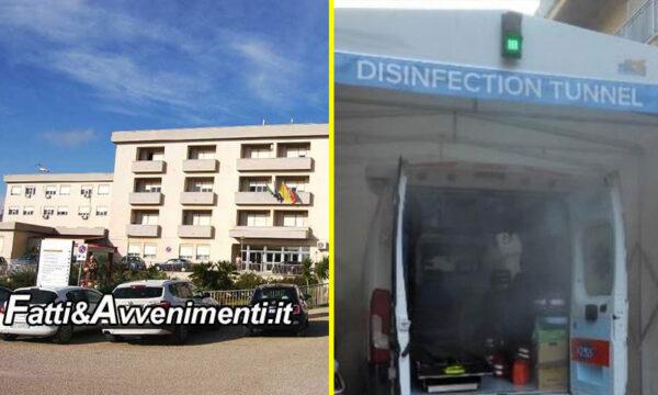 """Sanità. Ospedale Ribera, Montalbano: """"Salute cittadini a rischio"""". Fials 118 chiede attivazione tunnel sanificazione Sciacca e Agrigento"""