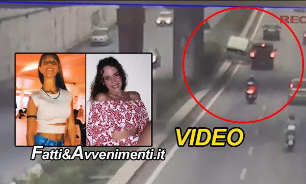 Palermo. il terrificante video dell'incidente in viale Regione Siciliana: ecco cosa è successo