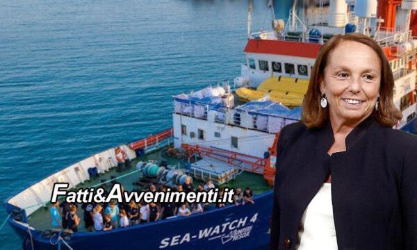 Lamorgese assegna il porto di Trapani alla Sea Watch 4 per sbarcare i 455 migranti prelevati davanti la Libia