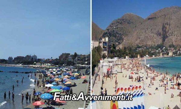 """Primo weekend in zona gialla e in Sicilia è stato il """"Liberi tutti"""": spiagge e locali  presi d'assalto anche oltre le 23"""