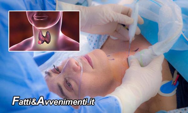 Salute & Benessere. Tumore della tiroide: la termoablazione evita la chirurgia
