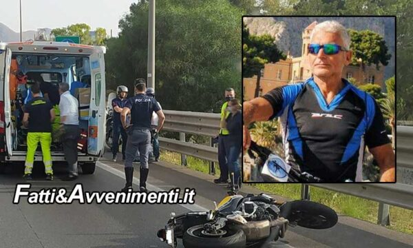 Tragedia sulla A29: moto si schianta sul guard rail: muore una 51enne e un 62enne che vola giù dal viadotto