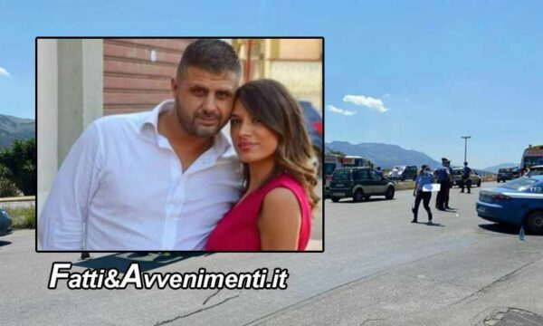 Palermo. Terribile scontro auto – scooter: due fidanzati di 37 e 29 anni perdono la vita