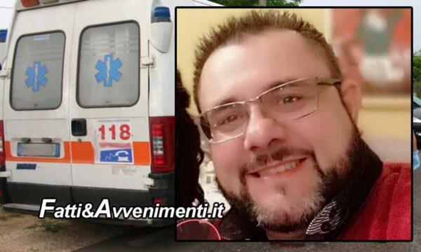 Polizzi Generosa (PA). Violento scontro fra moto e auto: perde la vita un 44enne, ferita una donna di 59 anni