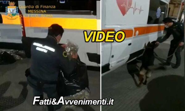 Messina. Droga nelle ambulanze: sgominata organizzazione, 8 le persone arrestate