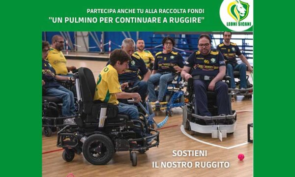 """S. Margherita Belìce. Raccolta fondi per i Leoni Sicani Onlus """"Un Pulmino per continuare a ruggire"""""""