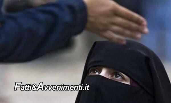 Palermo. Pugni, insulti e abusi sessuali alla moglie palermitana da tunisino per imporre velo e Ramadan