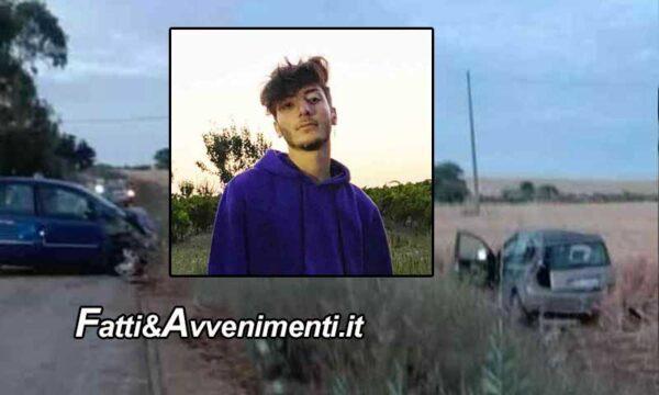 Incidente sulla Menfi – S. Margherita Belice. 19enne muore dopo due giorni: donati gli organi