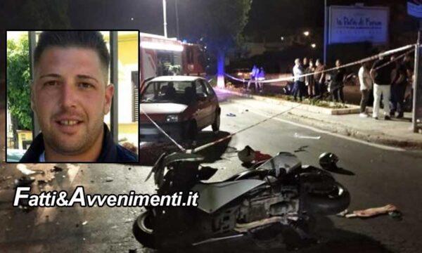 Palermo. Scontro nelle notte tra un'auto e una moto: perde la vita un 31enne, ferito il passeggero