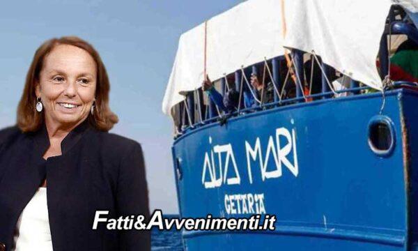 Lamorgese autorizza la spagnola Aita Mari a sbarcare a Augusta i migranti prelevati davanti la Libia